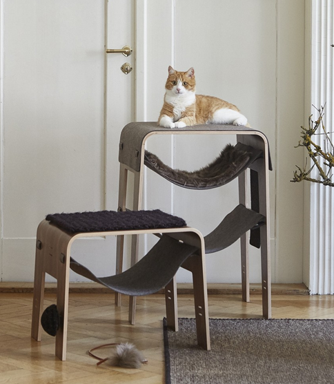 Le design d'un arbre à chat